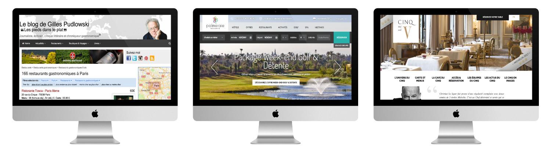 Site WordPress pour l'hôtellerie