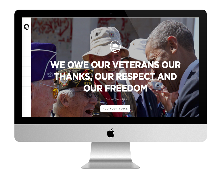 Site WordPress Obama