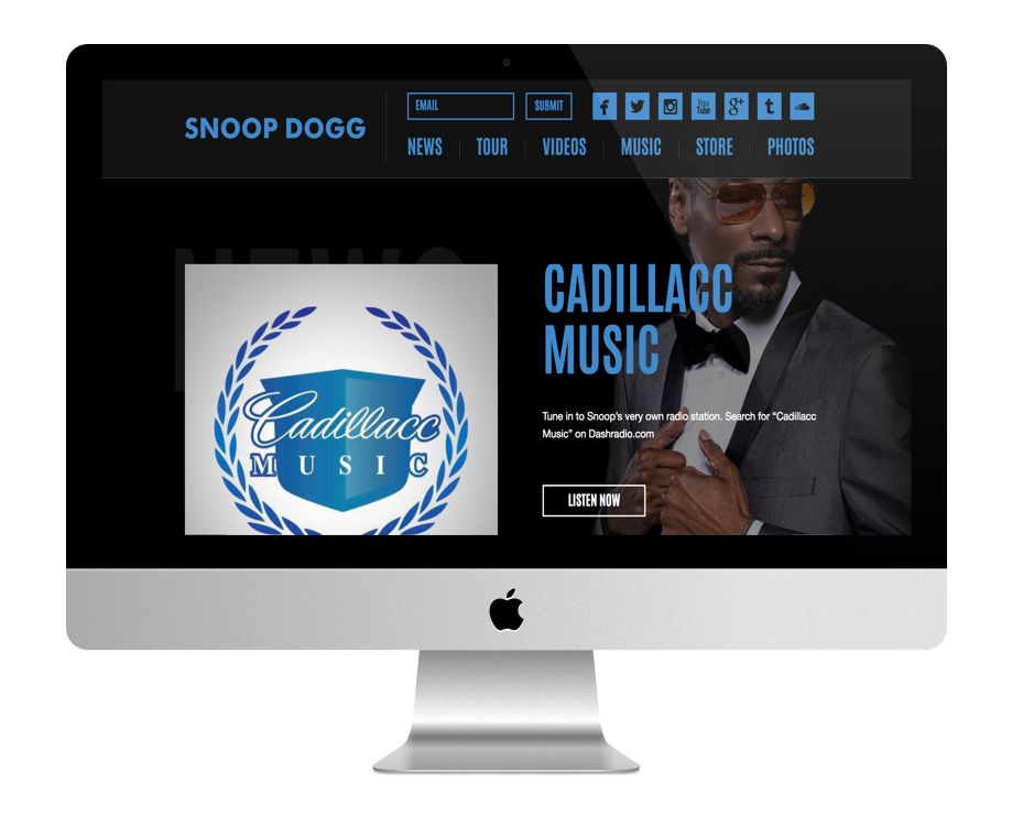 Site WordPress SnoopDog