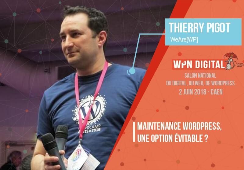 Conférence sur la maintenance WordPress